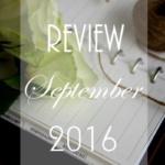 {Review} September 2016