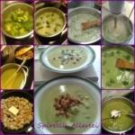 {Herzhaft} Brokkoli-Suppe light mit Croutons zum knuspern