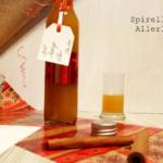 {Getränke} Nachweihnachtlicher Apfel-Mango-Likör