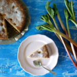 {Kuchen&Torten} Ein schneller Rhabarberkuchen und gute Neuigkeiten