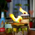 {DIY} Upcycling – Citronella Lampen aus alten Schraubgläsern