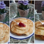Sahne-Pfannkuchen