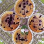 Blaubeer-Käse-Muffins