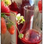 Erdbeer-Schnaps