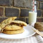 Cookies mit Nutellafüllung