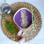 Heidelbeer-Smoothie-Bowl