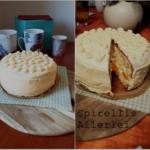 Pfirsisch-Buttercreme-Torte