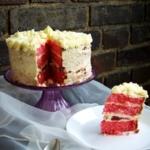 Himbeer-Torte mit Vanille-Buttercreme