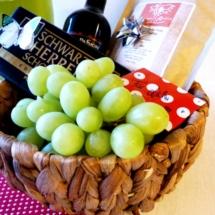 Valentins-Geschenkkorb