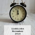 {LiebLinks} Ein aufregender November