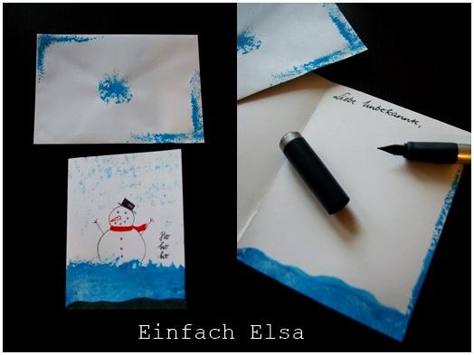 schneemann-karte