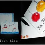 {DIY} Erste Weihnachtskarten