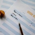 {Hochzeit} #1 – Die Gästeliste (+Freebie)