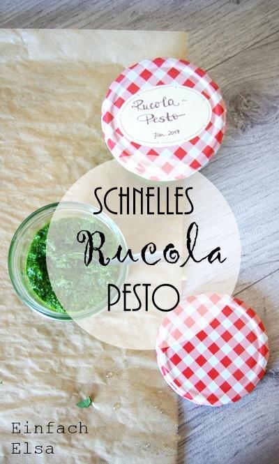 Rucola-Pesto-schnell-gemacht