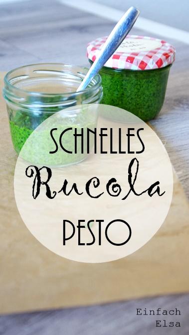einfaches-Pesto-mit-Rucola
