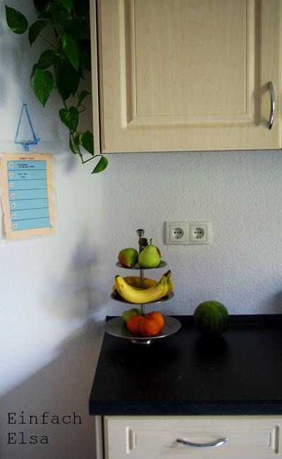 Küche-dekorieren-mit-Wochenplan-Essen