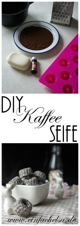 DIY Kaffeeseife selbstgemacht schnell und einfach und das perfekte Geschenk