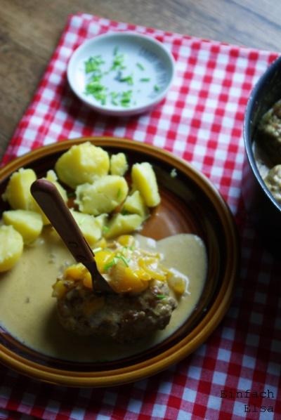 Beefsteak-Hackfleisch-in-Sahnesauce