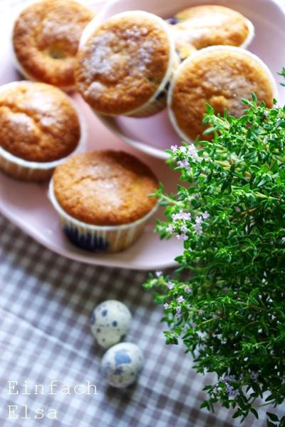 Blaubeermuffins-mit-Sahne