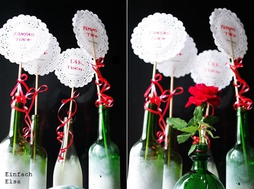 Dekoration-alte-Weinflaschen