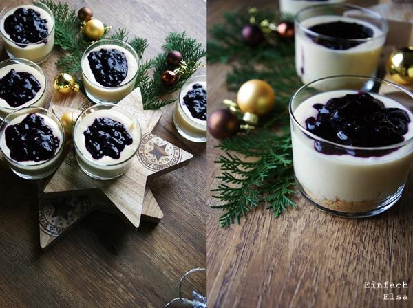 Dessert-mit-Schokolade-und-Heidelbeeren
