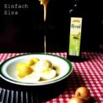 {Herzhaft} Verlorene Eier in Senfsoße