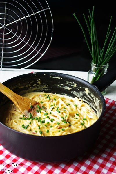 Einfache-One-Pot-Carbonara