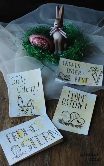 Frohe-Ostern-marmorierte-Karten