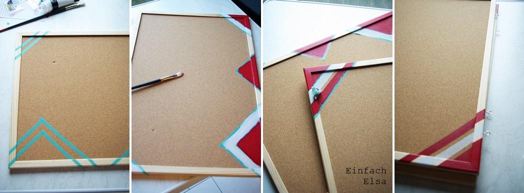 Herstellung-DIY-Pinnwand