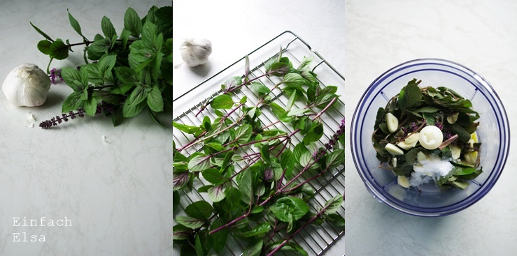 Herstellung-Kräuterpaste