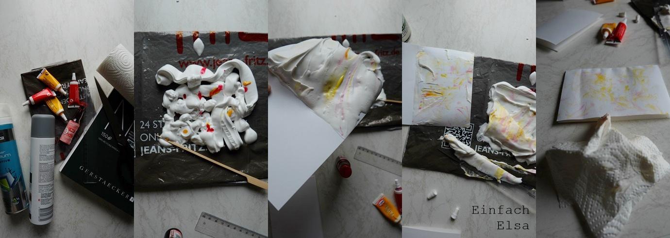 Herstellung-Mrmorierte-Karten-mit-Rasierschaum