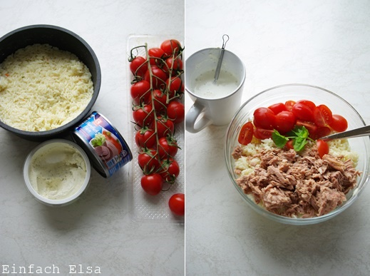 Herstellung-Reissalat-mit-Thunfisch