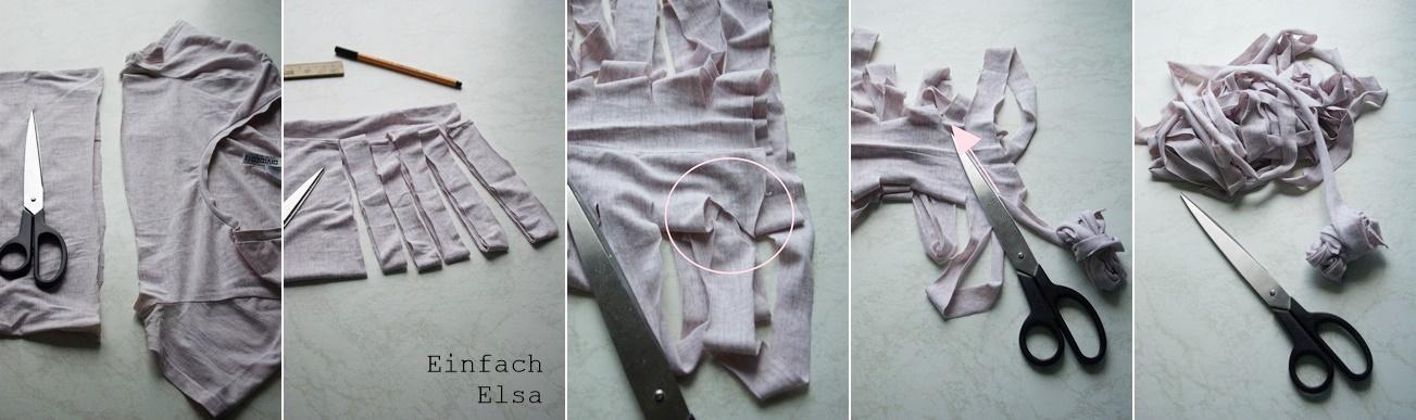 Herstellung-Tshirt-Garn