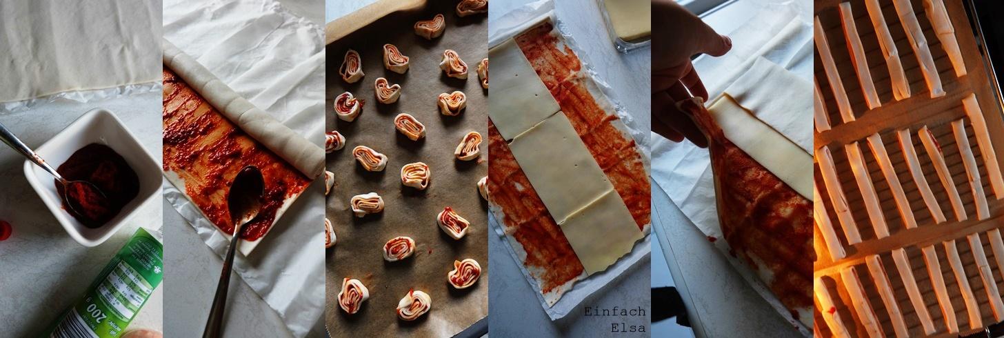 Herstellung-herzhafte-Blätterteig-Snacks