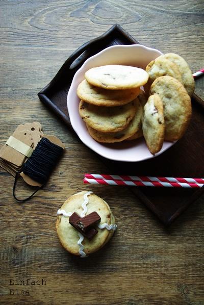 Kekse-mit-KiKat-Schokoriegel