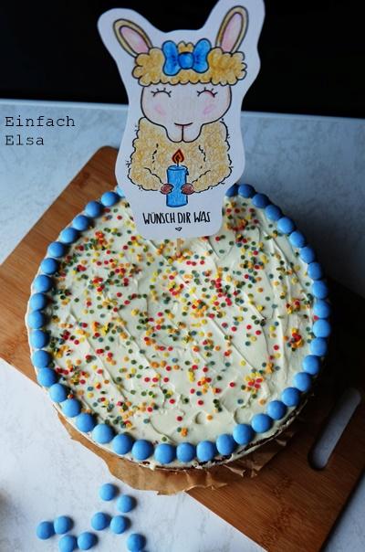 Kuchen-mit-Smartiefüllung