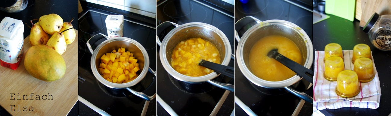 Mango-Birnen-Marmelade-selbstgemacht