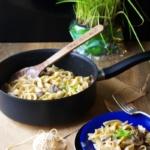 {Herzhaft} One Pot Pasta mit Champignons