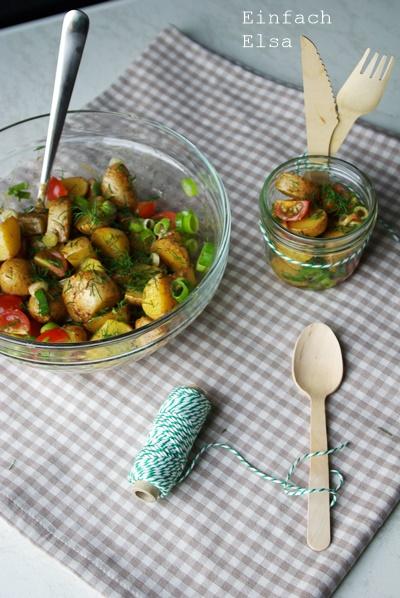Ofenkartoffel-Salat