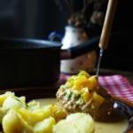 {Herzhaft} Hackbällchen in Paprika-Sahne-Sauce