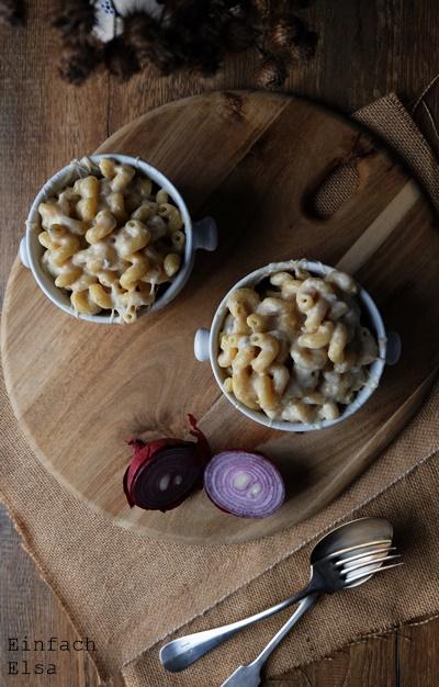 Pasta-mit-Gorgonzola-Käse