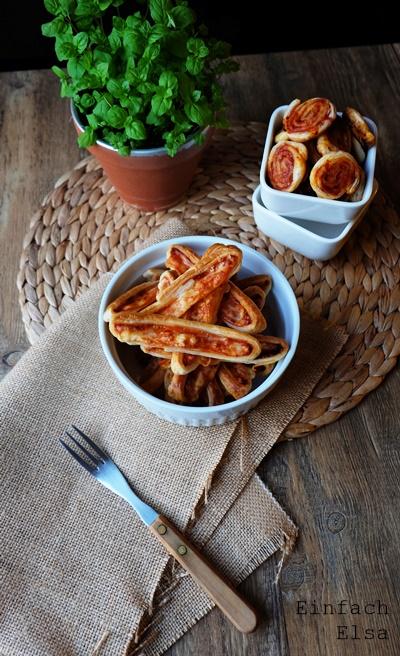 Pikante-Snacks-aus-Blätterteig