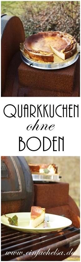 Quarkkuchen ohne Boden - Cheesecake - Käsekuchen