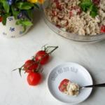 {Herzhaft} Reissalat mit Thunfisch