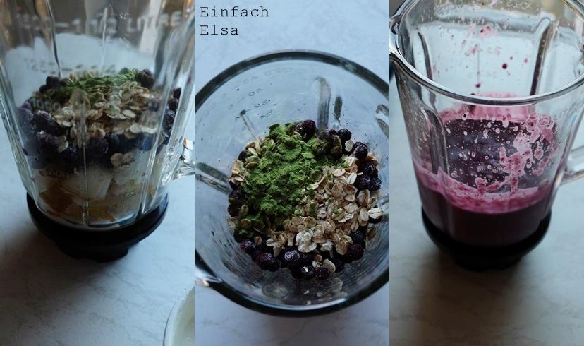 Rezept-Frühstückssmoothie-Drink
