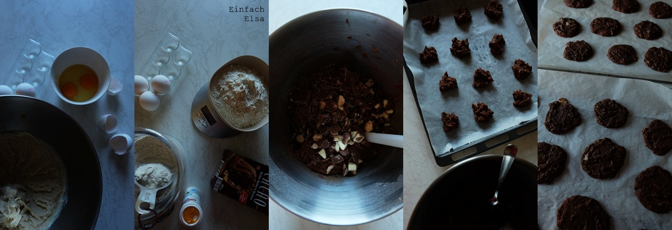 Rezept-Schokocookies