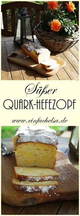 Süßer Quark-Hefezopf für Ostern oder jede andere Feierlichkeit mit Trockenhefe