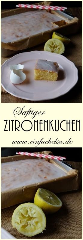 Saftiger Zitronenkuchen mit griechischem Jogurt