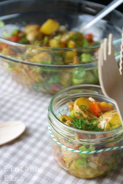 Salat-Ofenkartoffeln