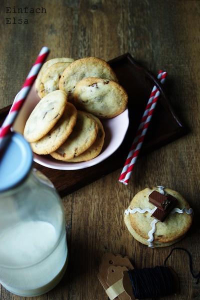 Schokoladenriegel-Cookies